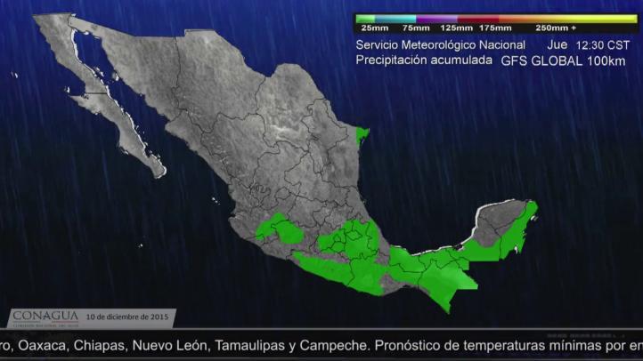 Video Pronóstico del Tiempo para el 10 de diciembre