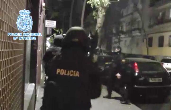 Detienen en Madrid a presuntos terroristas