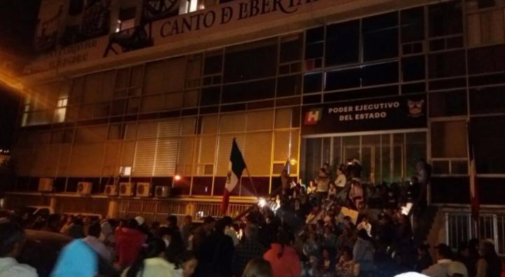 Protesta en Hidalgo por la calidad de alimentos que se entregan en las escuelas