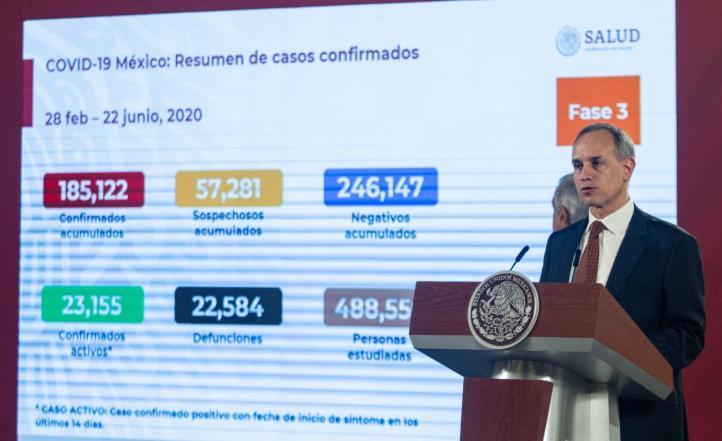 Velocidad de epidemia está en periodo de estabilización: López-Gatell