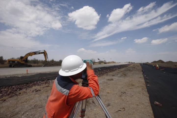 Avance del tres por ciento en la construcción del nuevo aeropuerto