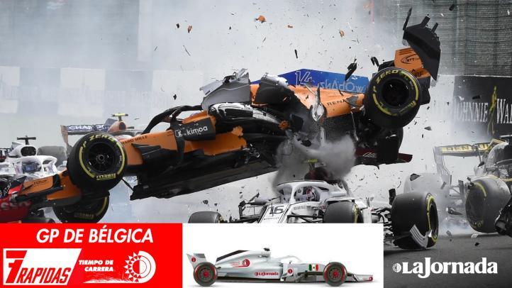 7 Rápidas del Gran Premio de Bélgica