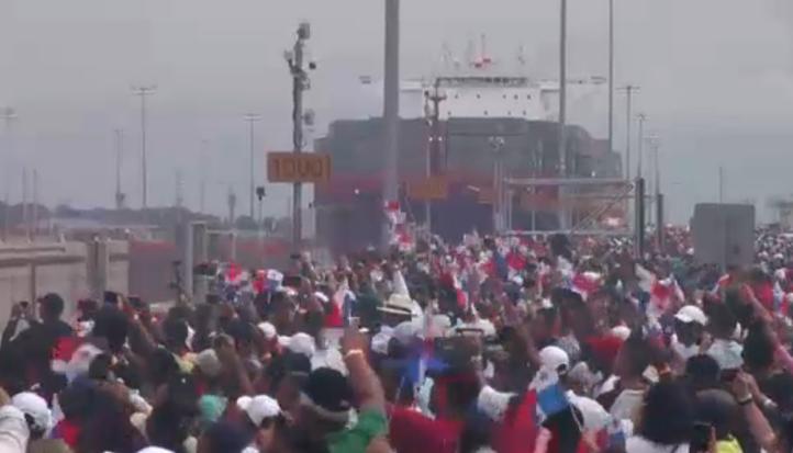 Se amplia el canal de Panamá