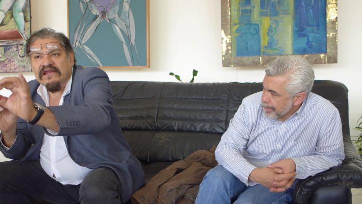 Plática con Joaquín Cosío, quien interpreta al líder de la oposición en La Dictadura Perfecta