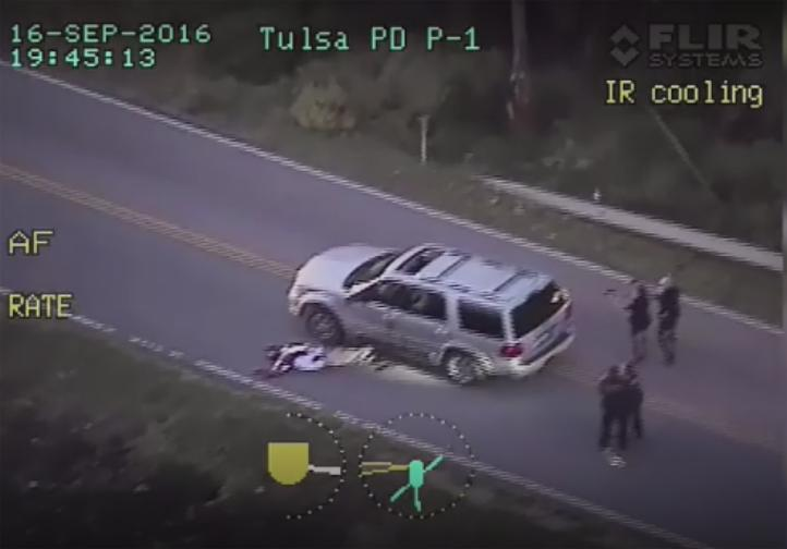 Video pone en duda versión policial de tiroteo en Oklahoma