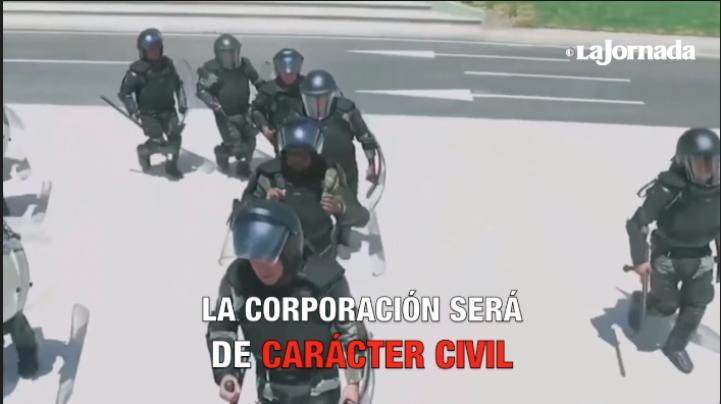 Con voto unánime aprueban Guardia Nacional