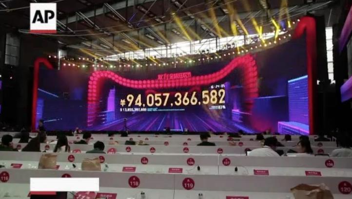 """Compradores chinos gastan millones online en """"Singles Day"""""""