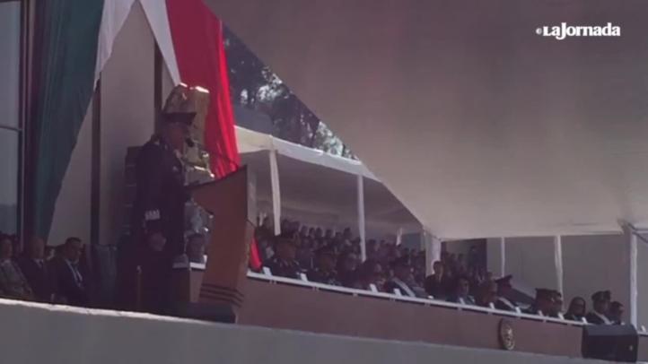 Agradece Cienfuegos a Enrique Peña Nieto