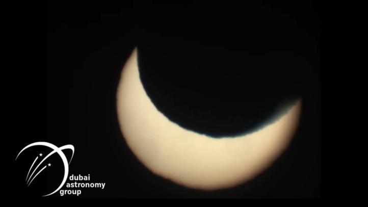 Último eclipse de 2019 dibujó un 'anillo de fuego' sobre la Luna