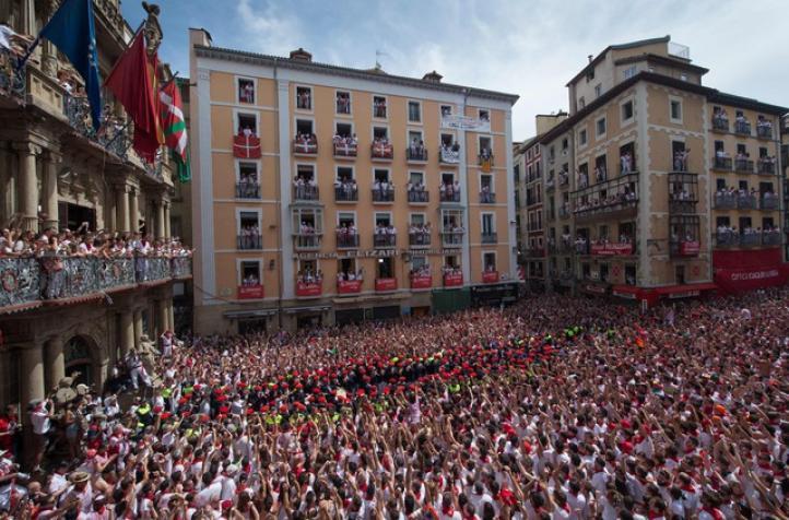 Arrancan celebraciones de San Fermín en Pamplona