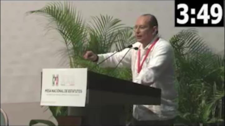 """Delegado priísta de Quintana Roo propone acabar con """"chapulines"""" plurinominales"""