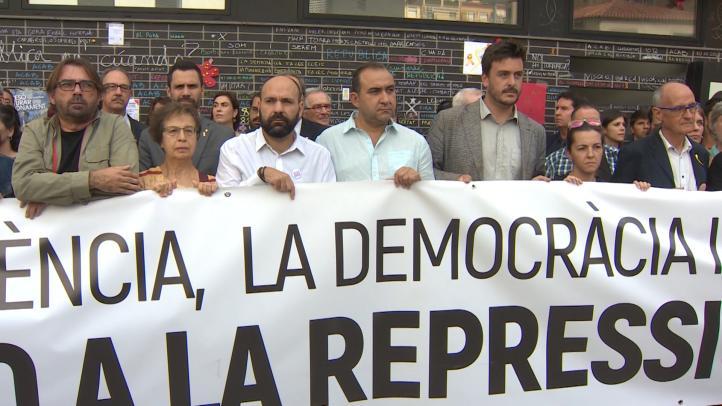 Reaccionan a la conmemoración del 1 de octubre en Cataluña