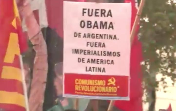 Obama en Argentina, entre tango y protestas