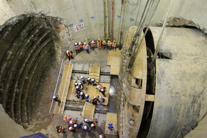 Túnel Emisor Oriente estará listo antes de temporada de lluvias