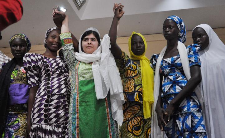 Malala busca liberación de niñas nigerianas