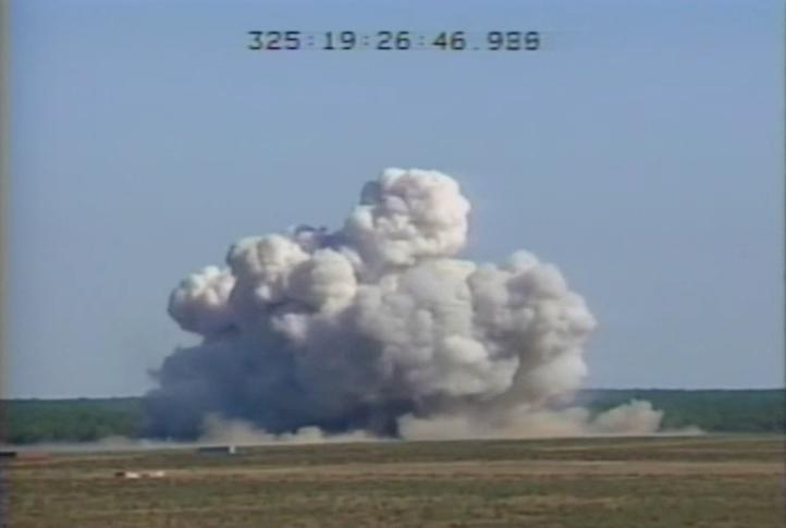 Así se vio el lanzamiento de la mayor bomba no nuclear jamás usada por Estados Unidos