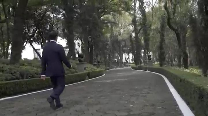 Peña Nieto difunde video de despedida