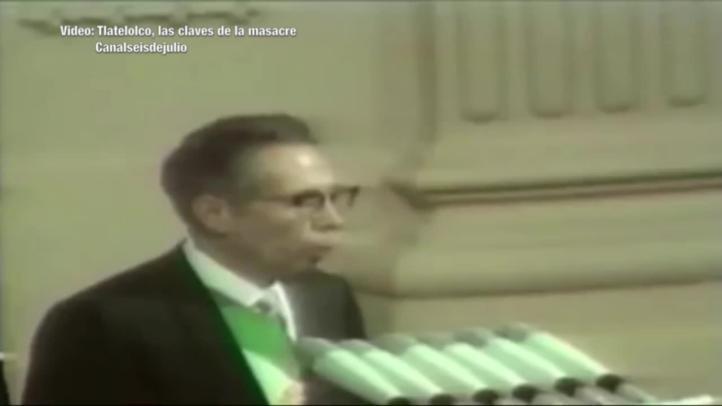 Doble lenguaje, el signo de Díaz Ordaz en los sucesos del 68