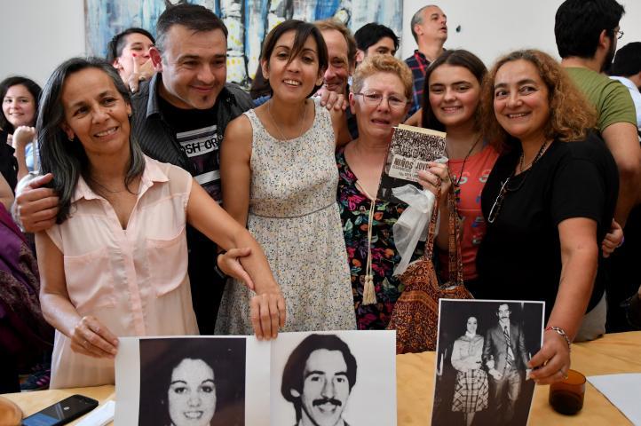 Recuperan en Argentina a la nieta 126