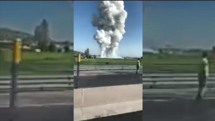 Al menos 12 muertos en explosiones en Tultepec