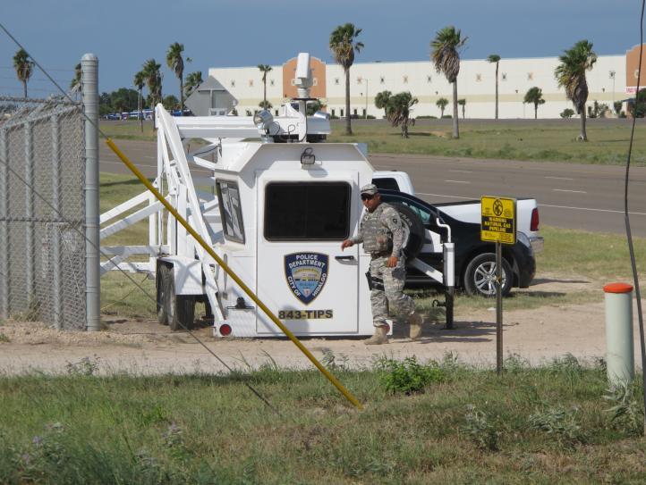 Llega primer grupo de la Guardia Nacional a la frontera Texas-México