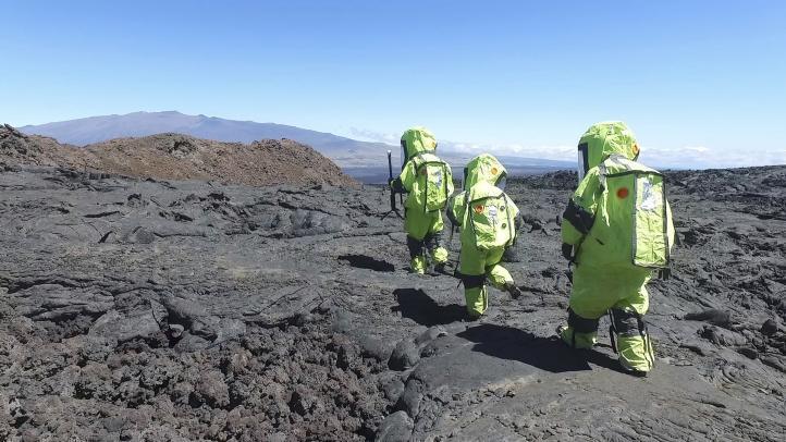 La Nasa prueba en Hawái cómo enviar personas a Marte