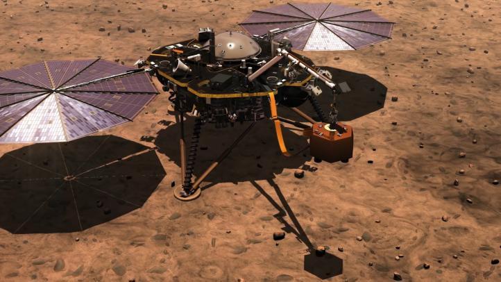 Descubre cómo suena el viento de Marte