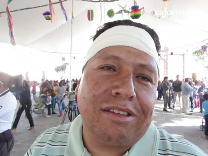 """""""Pensé en correr"""", dice locatario sobreviviente de la explosión del mercado de Tultepec"""