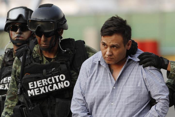Ejército y PF detienen al jefe de 'Los Zetas'