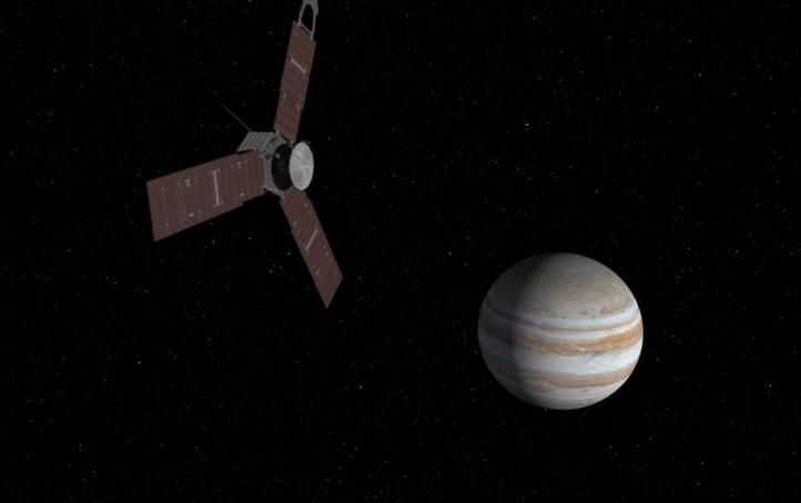 Difunden imágenes de la Gran Mancha Roja de Júpiter