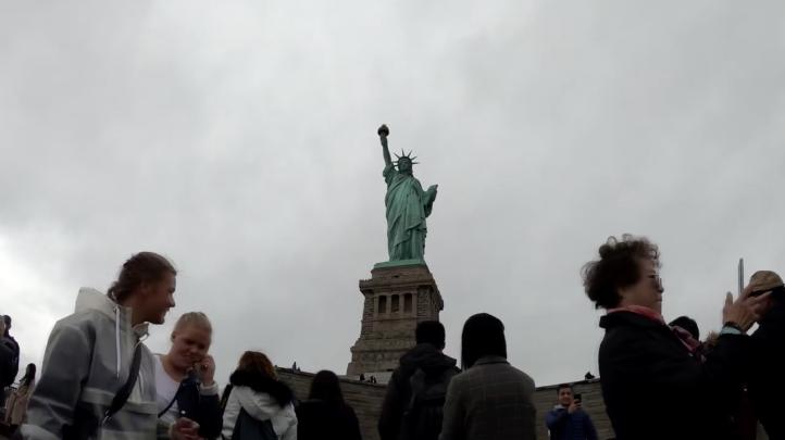 Inauguran un nuevo museo de la Estatua de la Libertad