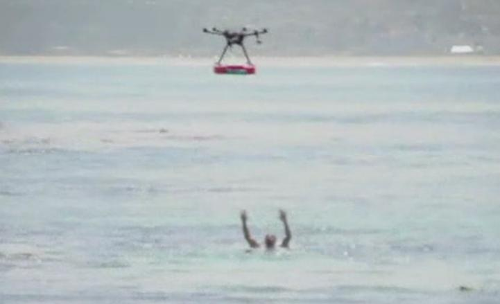 Crean drones salvavidas para las playas chilenas