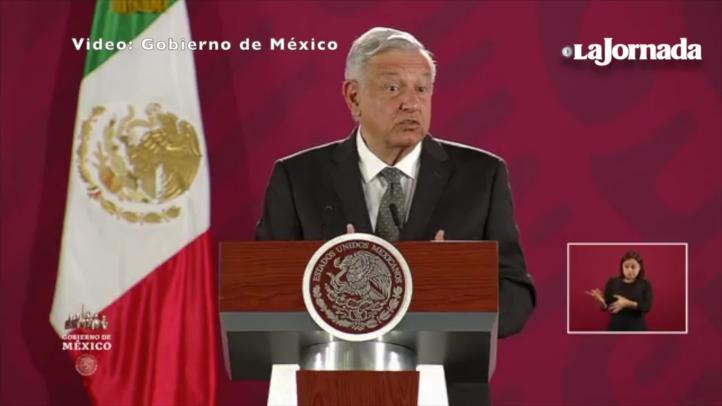 Oposición tiene garantías para protestar, reitera López Obrador