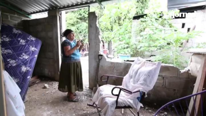 Unión Hidalgo devastado por el sismo