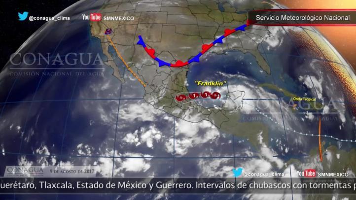 Pronóstico del tiempo para el 9 de agosto