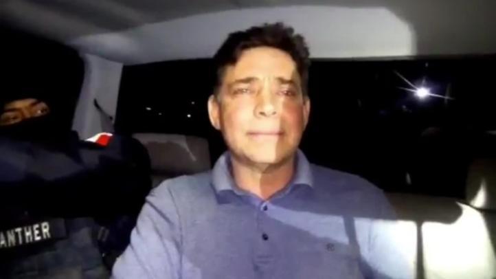 Trasladan al ex gobernador Eugenio Hernández al penal del Altiplano