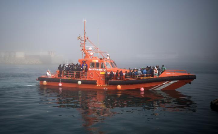 Rescatan a más de 600 migrantes en el Mediterráneo