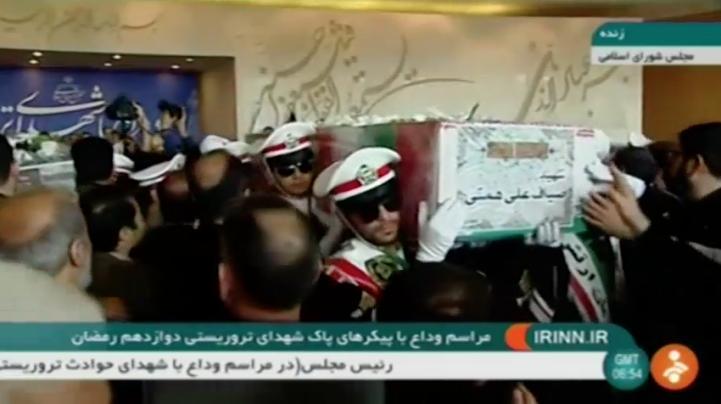 Líderes iraníes acusan a EU y Arabia Saudí de apoyar el ataque que causó 17 muertos en Teherán