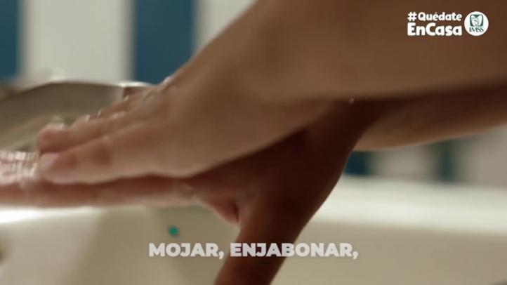 ¿Ya te lavaste las manos?