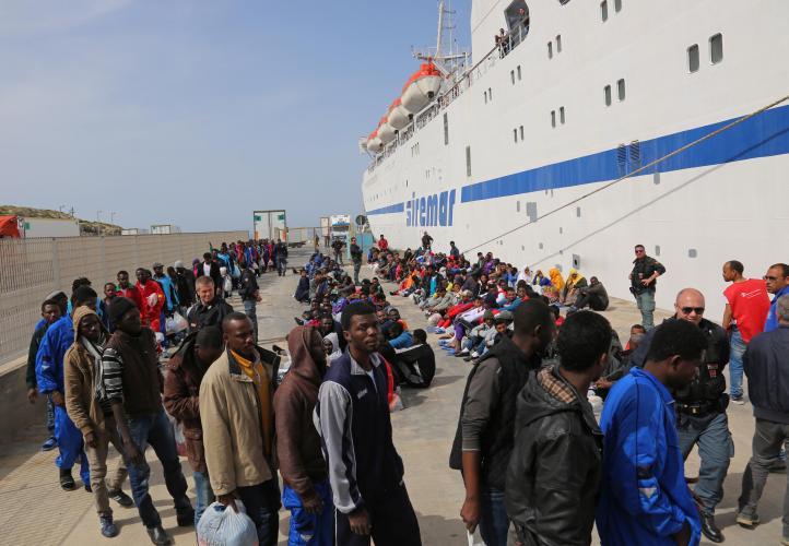Italia: Rescatan a más de 10 mil migrantes en una semana