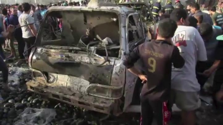 Ataque con camión bomba en Bagdad