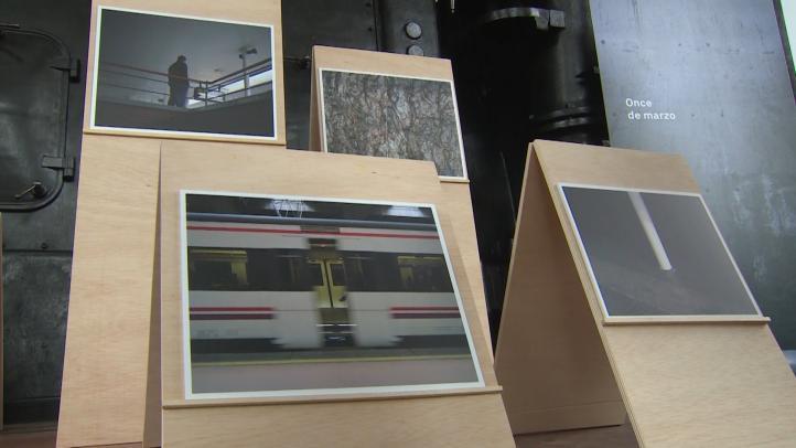 A 15 años, conmemoran con exposición atentados del 11M