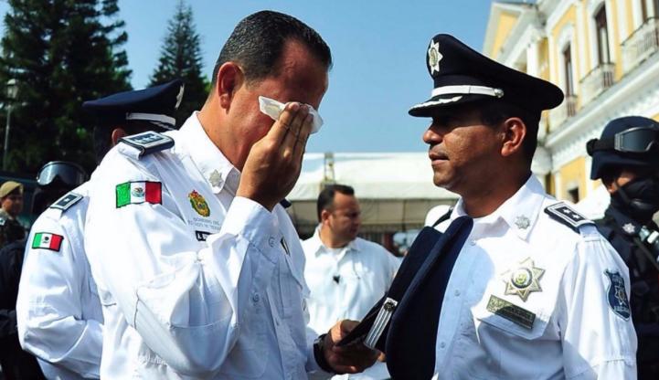 Ex secretario de Seguridad Pública de Veracruz acude a Fiscalía General del Estado