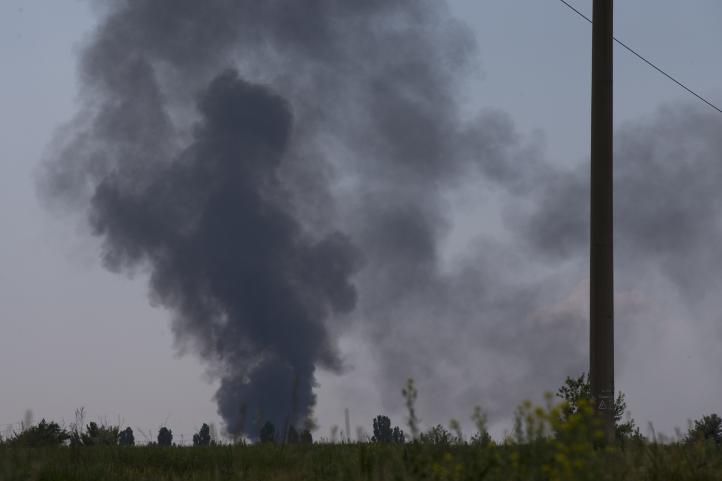 Ucrania: rebeldes derriban helicóptero; hay 14 muertos