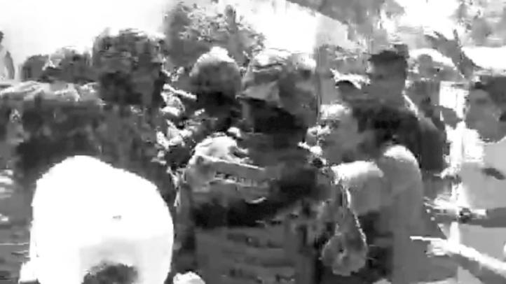 Exceso de fuerza en operativo de Marina y Profepa en Holbox