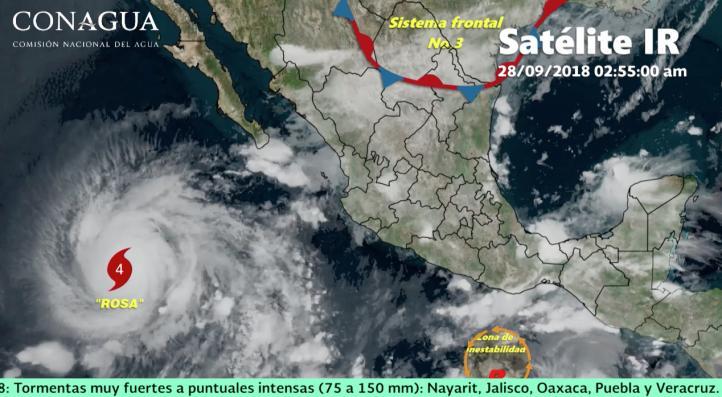 Pronóstico del tiempo para el 28 de septiembre