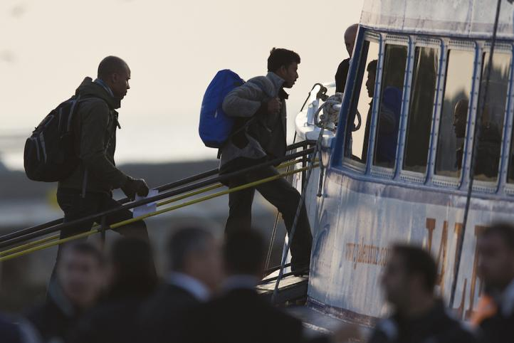 Comienza deportación masiva de migrantes
