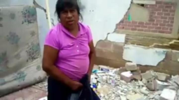 San Antonio Alpanocan, Puebla, en el olvido después del sismo