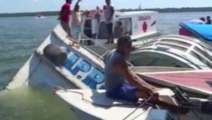 Naufragio en río de Brasil deja al menos 19 muertos