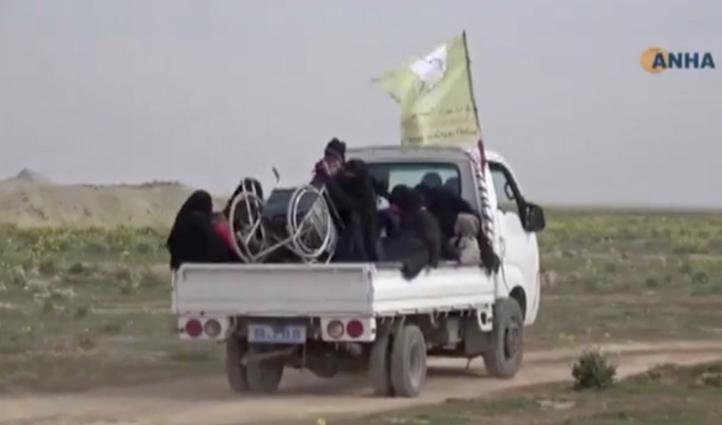 Intensos combates en bastión del EI en Siria